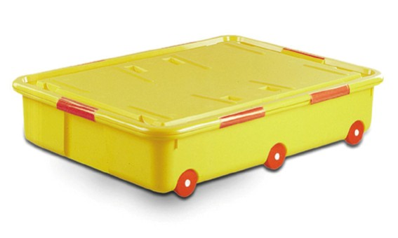 Used Storage Box With Wheels Mould